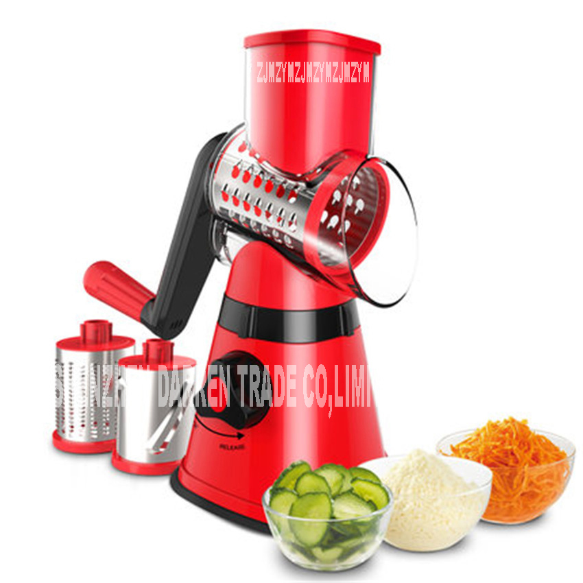 PS-336H Manual roller shredder slicers tool cut fruit Multi-function stainless steel Fruit Vegetable Tools Mo powde shredding high quality automatic electric fruit salad slicers cutt shredder machine vegetable cutter fruit onion slicer shredder