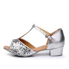 Cdso dance  Children white/black/beige/bronze/ latin/modern/Kids Sneakers dance shoes Girls Shoes Ballroom Salsa Shoes