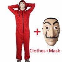 Salvador Dali Movie Costume Money Heist The House Of Paper La Casa De Papel Cosplay Halloween