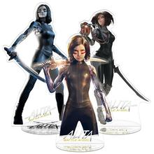лучшая цена Alita Battle Angel Acrylic Model Stand Figure Toy Anime Figure Collection For Kids Children Gift