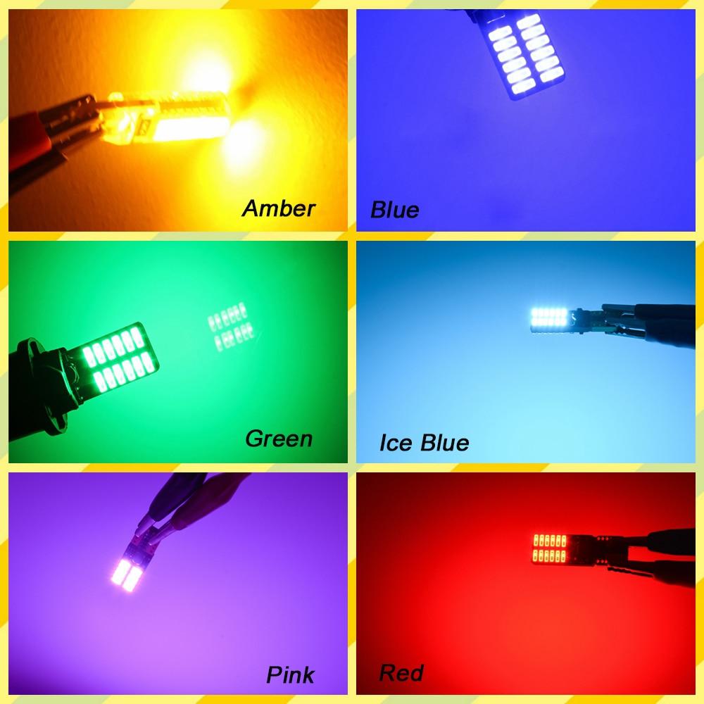 Katur 10x Χωρίς πολικότητα T10 800 Lumens W5W LED - Φώτα αυτοκινήτων - Φωτογραφία 6