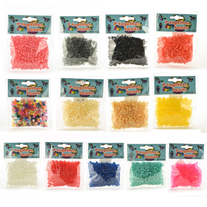 1Pack 5 Mm Hama Beads/ Perler Beads Intelligence Educational Toys Craft Handmaking Bead Wholesale