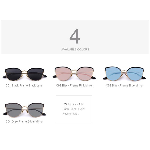 Women Designer Cat Eye Polarized Sunglasses
