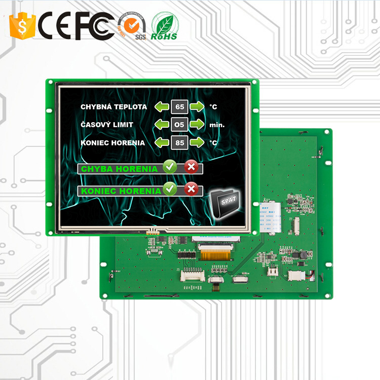 8 Inch Touch Screen LCD With PCB Board And MCU Controller