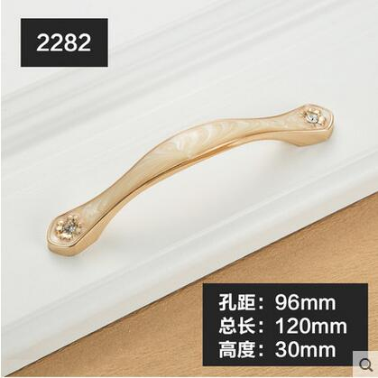 Furniture Knobs European Cabinet Knobs and Handles Simple Kitchen Handles Drawer Pulls Door Handles YJ2282 css clear crystal glass cabinet drawer door knobs handles 30mm