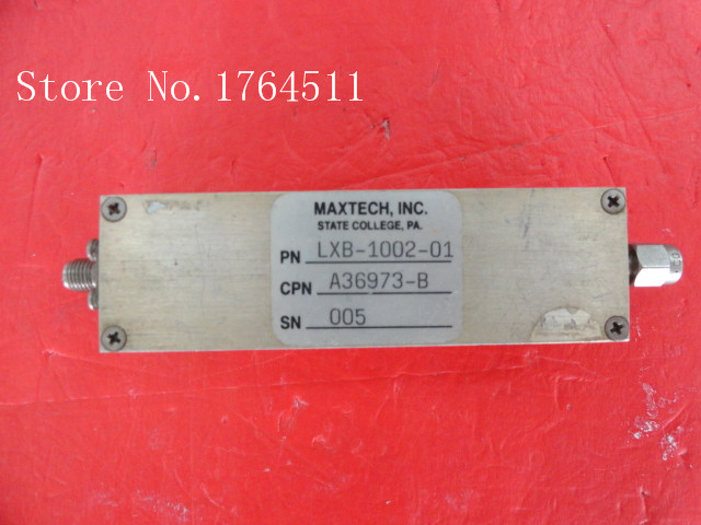 [BELLA] MAXTECH LXB-1002-01 7-9GHz G:28dB NF:12dB Supply Amplifier SMA