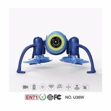 U36W Blue Aircraft 2 4Ghz WIFI FPV mini drone with camera
