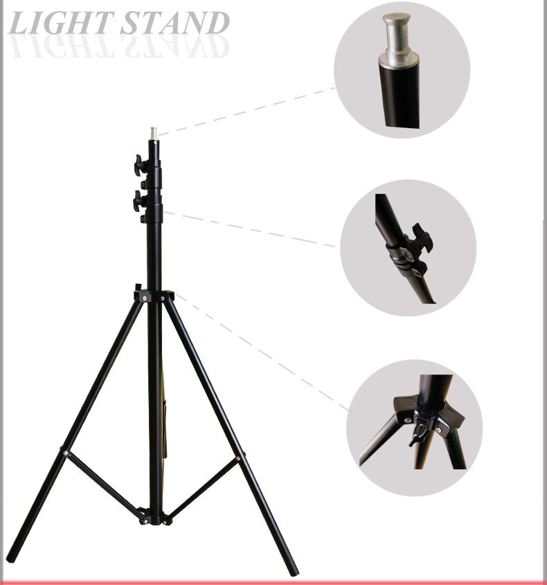 ФОТО 280cm 9FT Pro heavy duty  light stand for fresnel tungsten light 575W HMI Light Stand Station Studio Free Shipping