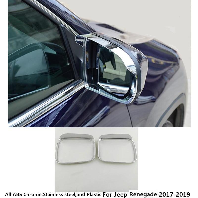 2PCS Car Rearview Mirror Visor Shade Rain Guard For Chevrolet Equinox 2017 2018
