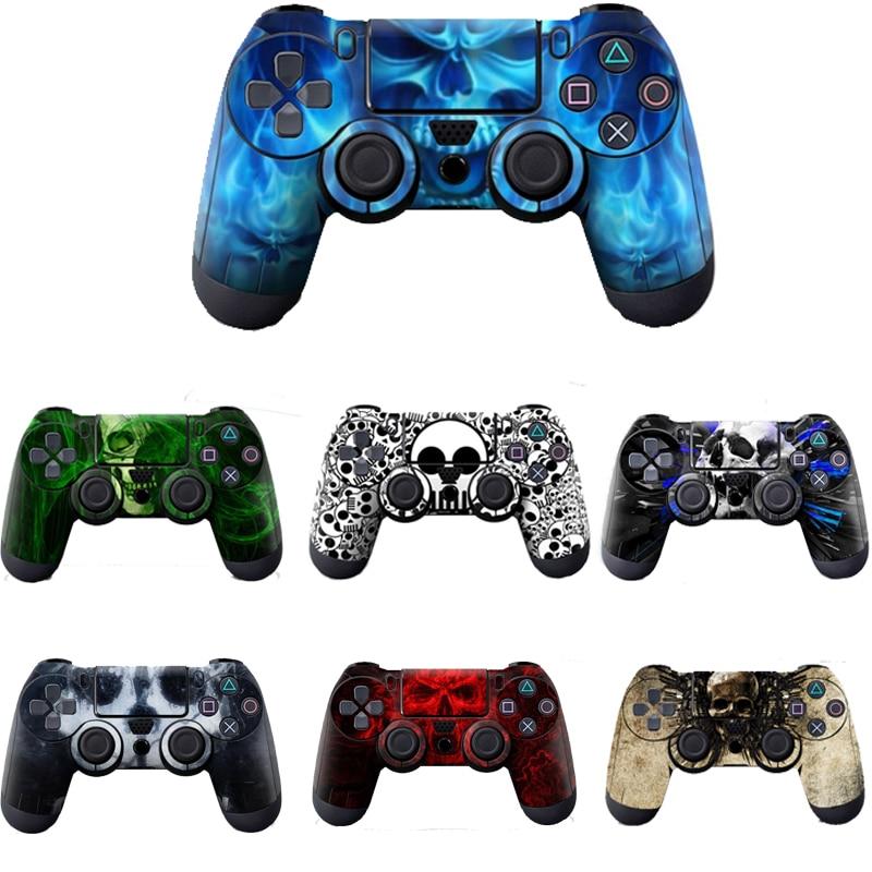 Videospiele Weichen Silikon Gummi Fall Abdeckung Protector Für Sony Ps4 Für Play Station 4 Gamepad Joystick Zubehör Grün Blau Rot