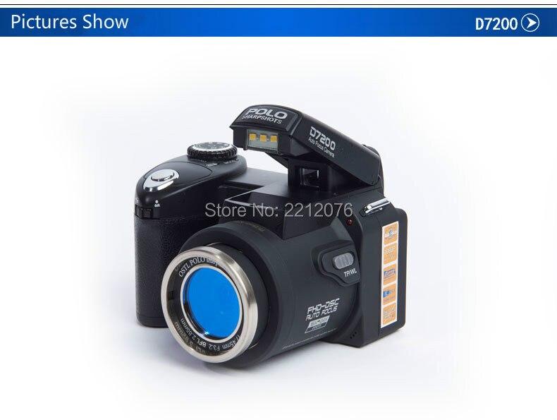 D70 Digital Video Camera 24X optical zoom 33MP interpolated home camera camcorder HD LED headlamps HD camera free shipping 3