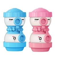 New 2017 Cute Kids Care Storage Box Portable Baby Milk Powder Formula Dispenser Food Container Infant