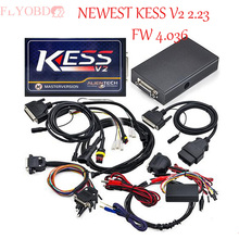 Haute qualité V2.10 ~ V2.23/2.25 Kess V2 ECU Programmeur Kess V2 ECU Chip Tuning Outil Kess V2 FW 4.036 Maître Version NoToken limite