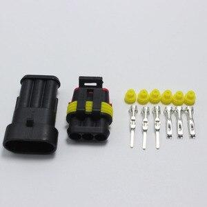 Image 2 - 60 ensembles DJ7031 1.5 connecteur de fil électrique étanche 3 P mâle et femelle connexion Automobile pour voiture ect