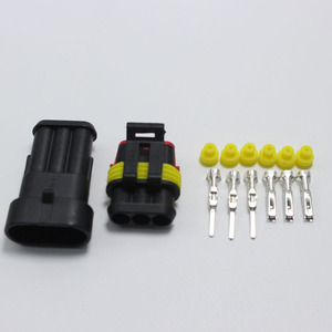 Image 2 - 60sets DJ7031 1.5 Waterproof Electrical Wire Connector 3 P Male & Female Automobile Connection for Car ect