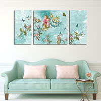 Modern Simple Fashion Living Room Wall Hanging Art Picture Abstract Classical Butterfly Flower Decorative Paintings New