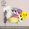 Autumn Winter Christmas sock women sock cotton Socks sheep candy color perfect elastic Free Shipping 1lot=5pairs