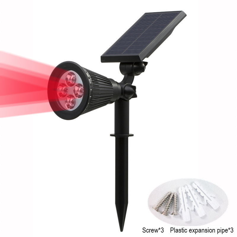 T SUN In Ground IP65 Solar Powered Spotlight with 4 to7 LEDs and Rechargeable Lithium Battery 44