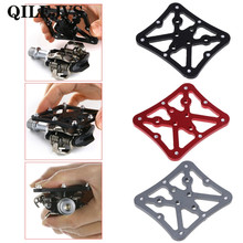 Bicycle Pedal Adapter Platform Cycling Aluminum Alloy Clipless For Shimano SPD  Pedal Adapter bicycle pedal mtb bike self locking spd pedal clipless pedal platform adapters for shimano spd looking keo system accessories