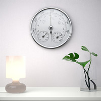 Weather Forecast Thermometer 30 50 Degrees 0 100 Rh 960 1060hPa Wall Hanging Hygrometer Barometer Analog
