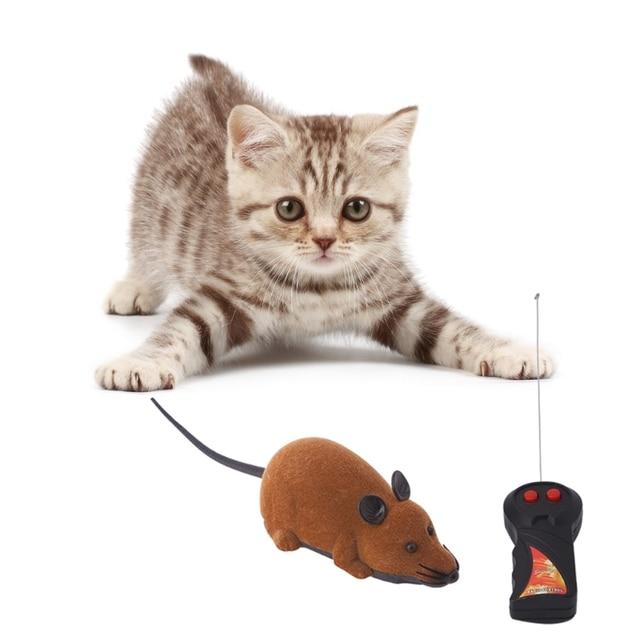 Lustige RC Wireless Katze Spielzeug Fernbedienung Ratte Maus ...