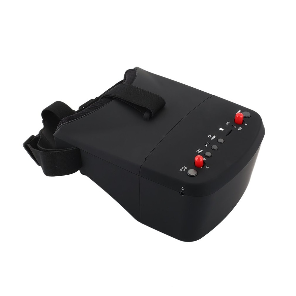 LS-800D 5.8G 5in 40CH FPV Goggles Headset Receiver Monitor with HD DVR Dual Antenna Auto-searching for RC Racing Drone fz