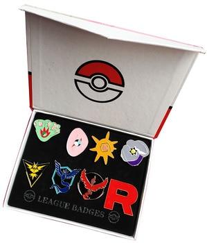 Набор брошек 8 шт. Pokemon Go