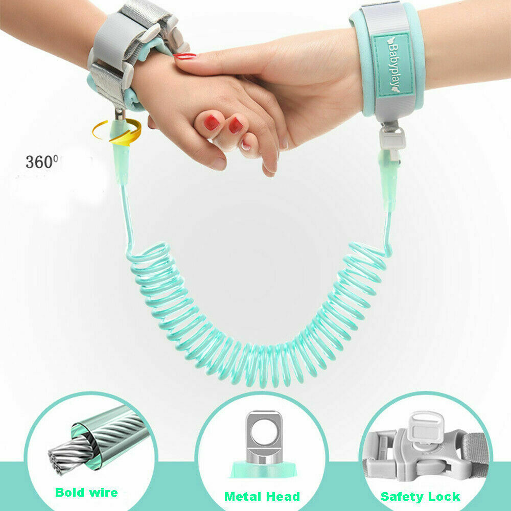 2019 Activity Gear  Harnesses Leashes Kid Safety Anti lost Band Link Harness Toddler Child Baby Wrist Strap Belt Anti Lost Wrist ethernet cable