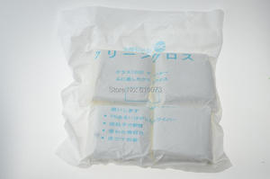 Image 2 - 400PCS/Bag Lab Phone LCD Screen Soft Cleanroom wiper cleaning Non Dust Cloth Dust Free Dispossable Wiper CLoth Glue Remover