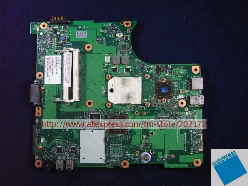 V000148020 Motherboard for Toshiba Satellite  L350D  6050A2174501 tested good nokotion sps v000198120 for toshiba satellite a500 a505 motherboard intel gm45 ddr2 6050a2323101 mb a01