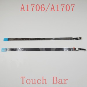 "Touchbar 821-00681-04 -A AMS983 JC01-0 for Macbook Pro Retina 13"" A1706 /A1707 Touch Bar OLED LED LCD Display Screen Bezel Panel(China)"
