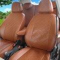 Assentos cobrir assento de carro personalizado cobre para Toyota Corolla conjunto padrão de Grade de couro PU assento de carro-cobre acessórios decorativos almofada