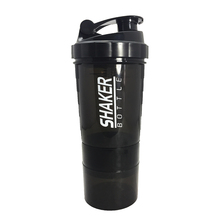купить NEW Sports Shaker Bottle Whey Protein Powder Mixing Bottle Sports Nutrition Protein Shaker Fitness Water Bottle With Three-layer дешево