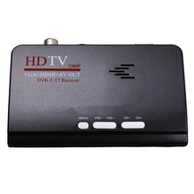 Smart Tv Box Us Plug 1080P Hd Dvb-T2/T Tv Box Hdmi Usb Vga Av Tuner Receiver Digital Set-Top Box цена и фото