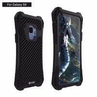 R JUST Case Luxury Doom Armor Dirt Shockproof 3proof Metal Aluminum Cell Phone Case For Samsung