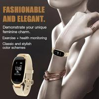 S3 Bluetooth Relógio Inteligente Moda Mulheres Senhoras de Fitness Monitor de Freqüência Cardíaca À Prova D' Água Rastreador Smartwatch para Android IOS