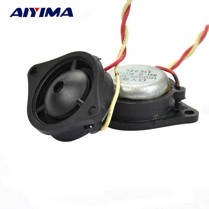 1 Inch 8Ohm Silk Membrane Small Tweeter Car High-Strength Neodymium Treble Speaker