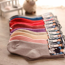 6pairs/lot Winter Children Thick socks Warm wool Kids Socks Baby