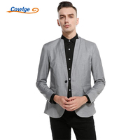 Covrlge Men Fashion Blazer Casual Mens Suit Jacket Solid Slim Fit Blazer Masculino Plus Size Man's Coat Prom Dress Coat MWX004