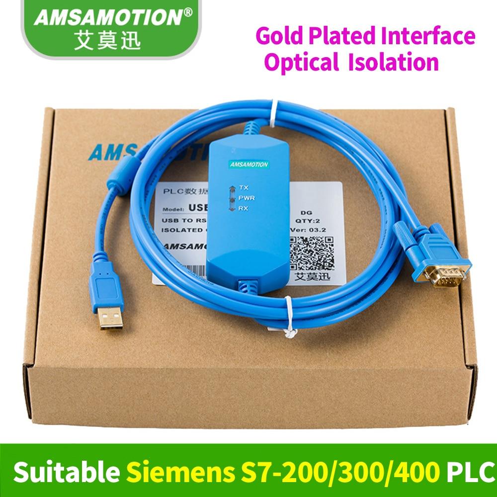 Suitable Siemens PLC Programming Cable S7-300 Download Cable USB-MPI USB-MPI 6ES7 972-0CB20-0XA0 practical usb cable cable ppi mpi of programming cd for siemens s7 200 300 400 plc