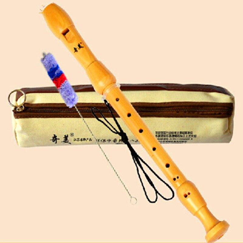 Wooden Recorder Baroque Flute Dizi F Key Alto 8 holes Flauta Profissional Wood Musical Instruments Clarinet