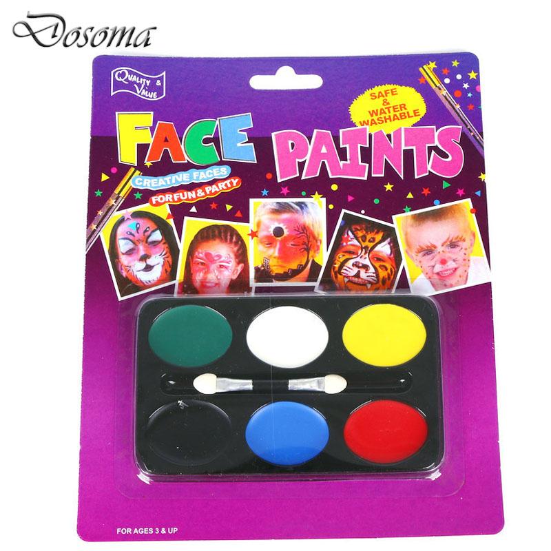 fiesta de navidad suministra cosmticos a prueba de agua pintura de cara y pintura corporal cos
