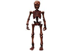 Куклы из обитсу, произведенные в японском народном стиле, элегантный Скелет, подвижная сиванская модель маленькой куклы Mr bones