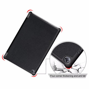 Image 2 - 30PCS/Lot For Huawei Mediapad M5 Pro 10.8 Stand PU Case For Huawei M5 10.8 Flip Slim Protective Cover Skin