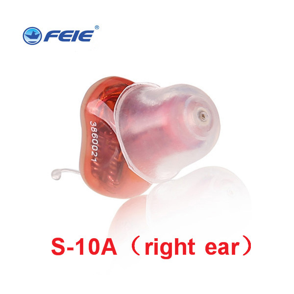 Drop Shipping Hearing Aid Sound Amplifier Mini Pro Hearing Aids for Deaf Invisible Ear Care Headphone Voice Loudly S-10A 6 channel digital hearing aid invisible feie digital hearing aids headphone amplifier s 16a drop shipping