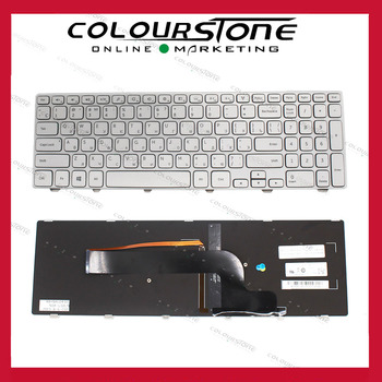 RU laptop keyboard for Dell Inspiron 15-7000 15 7537 7737 15HR 2525s 2528s series Russian Keyboard backlit V143625AS1 фото