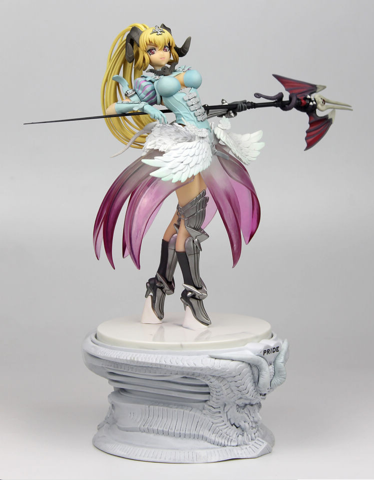 ФОТО High Quality!!! Japanese Anime Orchid Seed Lucifer Pride 31cm PVC Action Figure Collection Model Toy