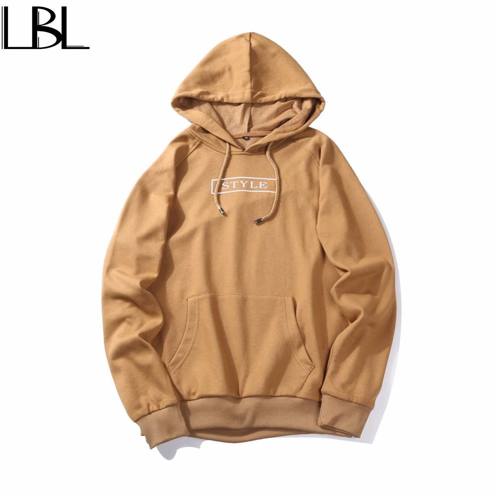 Europe size Autumn Winter Hoodie Men Letter Printed Mens Hoodie Sweatshirt Casual Long Sleeve Slim Fit Hooded Jacket Sportswear