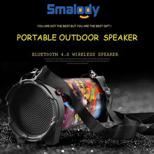 HIFI Draagbare Bluetooth Speaker AUX Audio-ingang TF Card Stereo Audio MP3 Speler Outdoor Bluetooth Speaker(China)