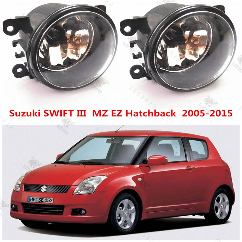 For suzuki SWIFT 3  2005-2009  Front bumper fog lamps  Original  Fog Lights Halogen car styling  35500-63J02